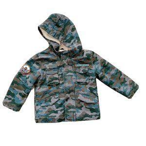 Cat & Jack Toddler Boys Jacket Coat Fleece Lined